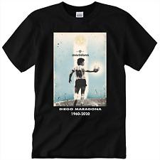 Goodbye Diego Maradona Tribute 1960-2020 T-Shirt R.I.P Soccer Legend 10 Maradona