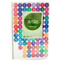 Essential Oil Bottle Cap Labels 1 Set (312 Labels)