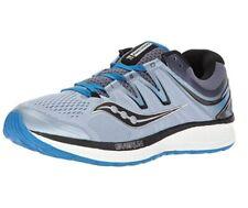 c293c6d1 Saucony Men's Hurricane ISO 4 Running Shoe, Grey/Blue, 10 Wide US NEW