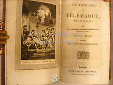 AVVENTURE DI TELEMACO Les Aventures de TELEMAQUE fils d'Ulysse incisioni '800