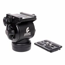 NEW EI-717AH Fluid Drag Head For Pro Video Camera Tripod Action Handle Arm