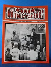 Little Circus Wagon 1991 March April Circus Model Builders International