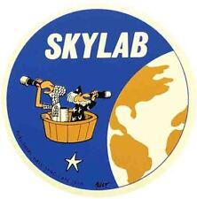 SKYLAB   Apollo Space  NASA  1960's Vintage Looking Travel Sticker Decal Label