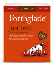 FORTHGLADE NATURAL JUST BEEF 18 x 395 gram trays GRAIN FREE