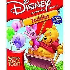 Disney's Learning 18mos-3yrs Winnie The Pooh Toddler w/ Spanish French