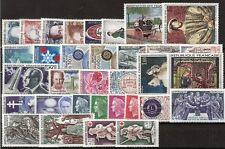 ANNEE COMPLETE NEUVE XX 1967 TIMBRES LUXE