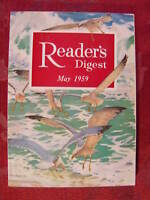 Readers Digest May 1959 Maurice Chevalier Yogi Berra John Strohm Robert Littell