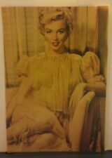 Amazing Rare Vintage Color Marilyn Monroe Magazine Clipping Beautiful 11 X 8