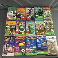 Veggie Tales VHS Lot of 15 Tapes