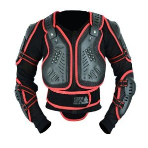 Men's Motorcycle Motorbike Motocross Body Armour spine Protector Guard Jacket