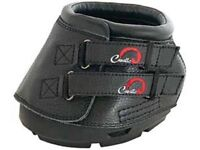 Cavallo SIMPLE SLIM Sole Multi Purpose All Terrain Boots + FREE Hoof Pick Black