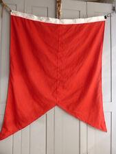 Vintage red racing flag