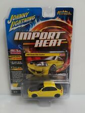 Johnny Lightning Import Heat 1998 Honda Civic Custom 1 Of 4800 Yellow