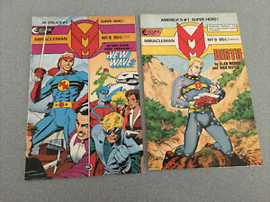 Miracleman 8 9 10 11 12 13 14 16 Alan Moore Eclipse Comics