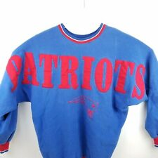 New England Patriots mens X Large Sweatshirt Russell Made In USA Vintage 90s NFL