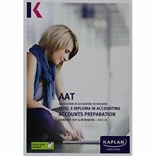 Accounts Preparation - Combined Text by Kaplan Publishing (Paperback, 2015)