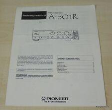 Pioneer A-501R Bedienungsanleitung Deutsch