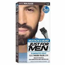 Gel Black Just for Men Beard Hair Colourants