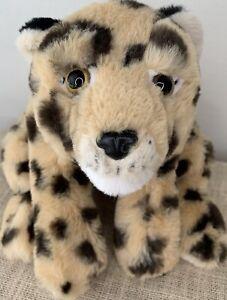 FAO Schwarz Plush Cheetah Cub Stuffed Animal Soft Leopard Adopt 2020 Cat Jungle