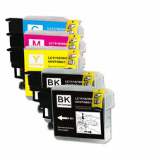 5 PK Ink Cartridges Compatible for Brother LC61 MFC-295CN  MFC-490CW MFC-J265w