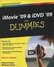 iMovie '09 & iDVD '09 For Dummies, Dennis R. Cohen, Michael E. Cohen, Good Condi