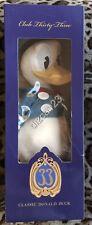 Disney Disneyland Club 33 Donald Duck Plush Heirloom Limited Edition NEW