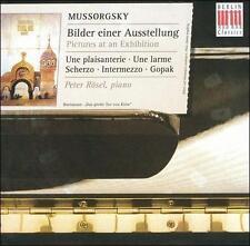 Mussorgsky: Pictures at an Exhibition; Une plaisanterie; Une larme; Scherzo; Int