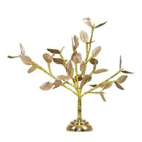 Decorative Gold Battery Operated 20 Warm White LED Bonsai Style Tree Table Lamp