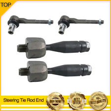 4PCS Steering Tie Rod Ends INNER & OUTER for 2004-2010 AUDI A8 QUATTRO