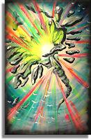 Unikat Impressionistisches Acrylgemälde Atelier Culari Art Art Nr. 468