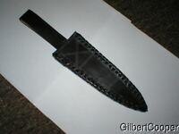 BLACK LEATHER SHEATH - #13 Small Knife
