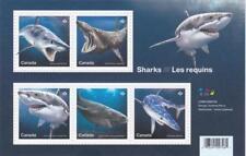 Canada 2018 Souvenir Sheet #3105 SHARKS  - MNH