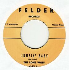 "Arizona Blues/Rocker by THE LONE WOLF ""Jumpin' Baby"" & ""I Still Love You"" repro"