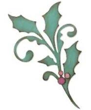 Sizzix Bigz Die Cutter Seasonal Scroll Code 664216 Christmas Holly