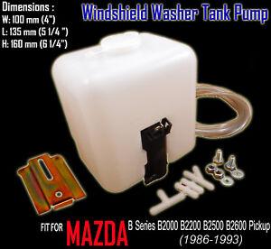 For Mazda B Series B2000 B2200 B2500 B2600 Pickup Windshield Washer Tank Pump