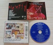 RARE CD ALBUM SONS OF THE P DIGITAL UNDERGROUND 11 TITRES 1991 CD BLEUE