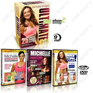 Exercise DVD Michelle Bridges Ultimate : 25 Complete Workouts : Brand New Boxset