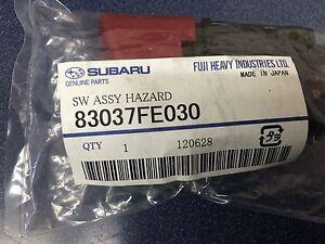 Subaru WRX STi Limited Red Hazard Switch 2002-2007 83037FE030 Impreza JDM GENUIN