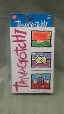 TAMAGOTCHI Virtual Pet V1 #1800 Very Rare Blue and Sliver/ New in Box 1996/1997
