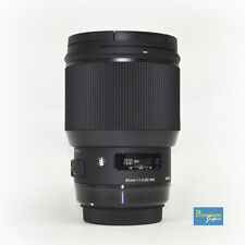 SIGMA 85mm F1.4 DG HSM Art Lens for Nikon Mount Japan Domestic Version New