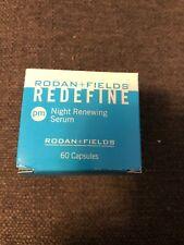 New Rodan + Fields redefine pm renewing serum 60 capsules