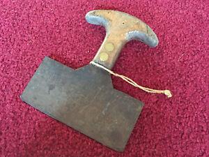 Antique Primitive Chopper Knife