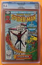Marvel Tales #138 Ditko Kirby 1982 Reprint Amazing Spider-Man #1-r CGC NM+ 9.6