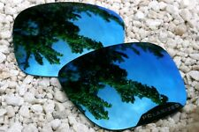 Polarized Dark Blue Navy Mirrored Sunglass Lenses for Oakley Holbrook
