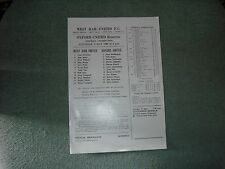 WEST HAM UNITED  V  OXFORD UNITED  (FC)  3-5-86  SINGLE SHEET
