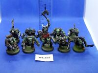 WH40K - Space Orks - Blood Axe Boyz x10 Painted - WK355