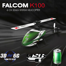 XK K100 6CH 3D 6-Axis 6G RTF RC Helicopter Built-in Gyro Stable Flight Control
