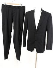 HUGO BOSS Anzug Gr. M / 50 Wolle Sakko Hose Business Suit Jacket Pants