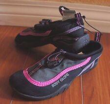 BODY GLOVE GIRLS RIPTIDE III WATER SHOES Black/Pink Size 13