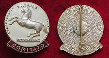 DISTINTIVO SPILLA KATANE CONCORSO IPPICO CATANIA C.H.I. 1957 COMITATO CAVALLO #2